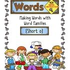 I love my Lets Make Words Books, but sometimes I just want to focus on one word family. I use these pages with dry erase markers in a plastic pouch...Construction Freebies, Teachers Materials, One Word, Schools Stuff, Word Families, Words Work, Words Families, Families Words Shorts, Constructionism Mak Words