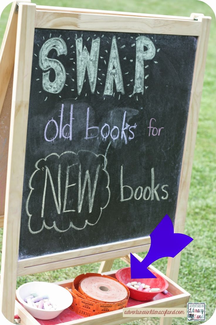 Adventures in Literacy Land: Host a Book Swap--ideas to host your own book swap!