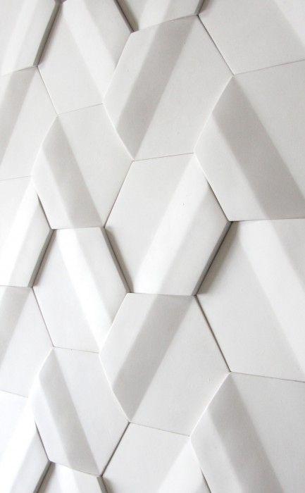 White tile module - by Pauline Gorelov