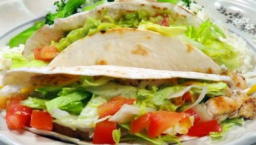 Chicken Tacos - Ingredients and Preparation