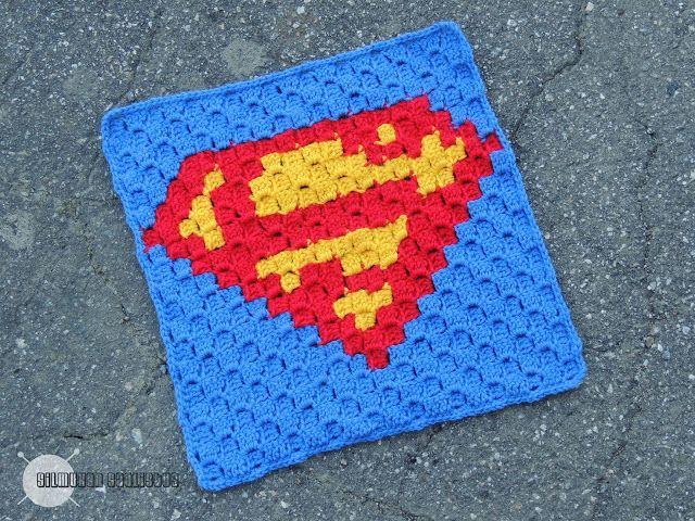 Silmukan saalistus: Supersankarit-peitto - Teräsmies