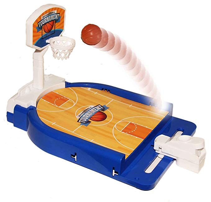 Dazzling Toys Mini Basketball Table Game Desktop Arcade Hoops Slap Shot Miniature Game For Ages 3 And Up Cla Fun Games For Kids Miniature Games Skill Games