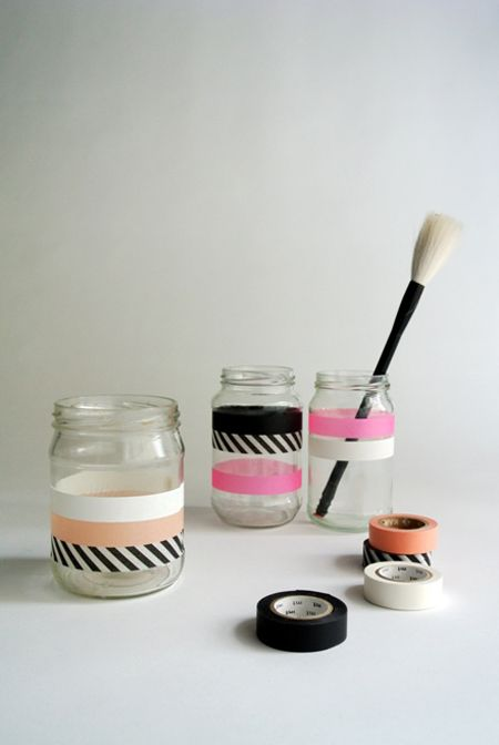 OH OH, another DIY washi tape jars...