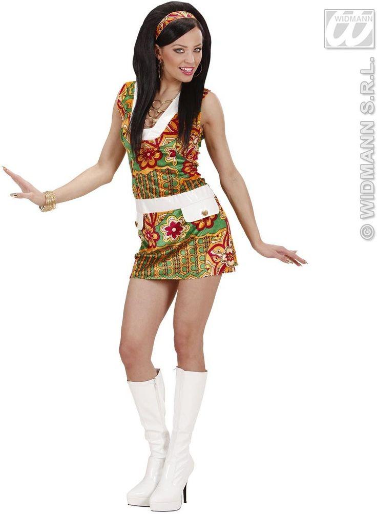60s Attire | Velvet 60S Mod Girl Costume - from Fun Fancy Dress.
