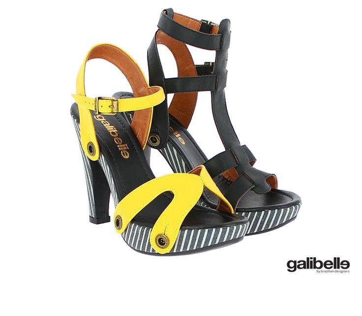 Uahhh ... Amazing combination pack Deise BW + 2 straps!!!! We <3 galibelle shoes