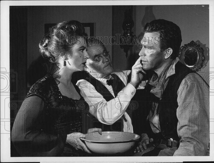 """1965 Press Photo Amanda Blake Milburn Stone Robert Lansing in """"Gunsmoke""""   eBay"""