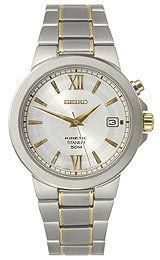Seiko Kinetic Titanium Mens Watch SKA485 Seiko. $158.00