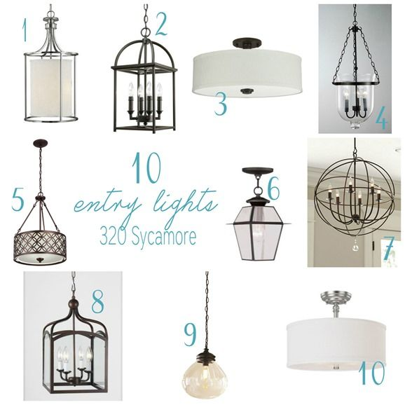 """Some modern Hamptons style pendants to inspire my choice for our entry way. """"10 entry light ideas""""."""
