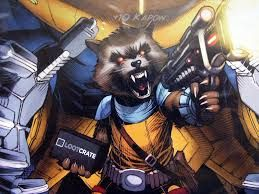 """Résultat de recherche d'images pour """"raccoon rocket wallpaper"""""""
