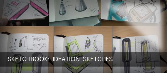 Sketchbook: Ideation Sketches