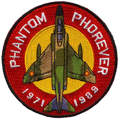 Parche-F-4C-Phantom-Ejercito-Aire-Espana-Spanish-Air-Force-patch-Military-Spain