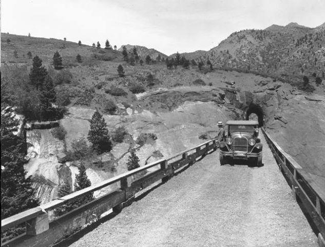 Gold Camp Road ~ Colorado Springs Colorado ~ 1925