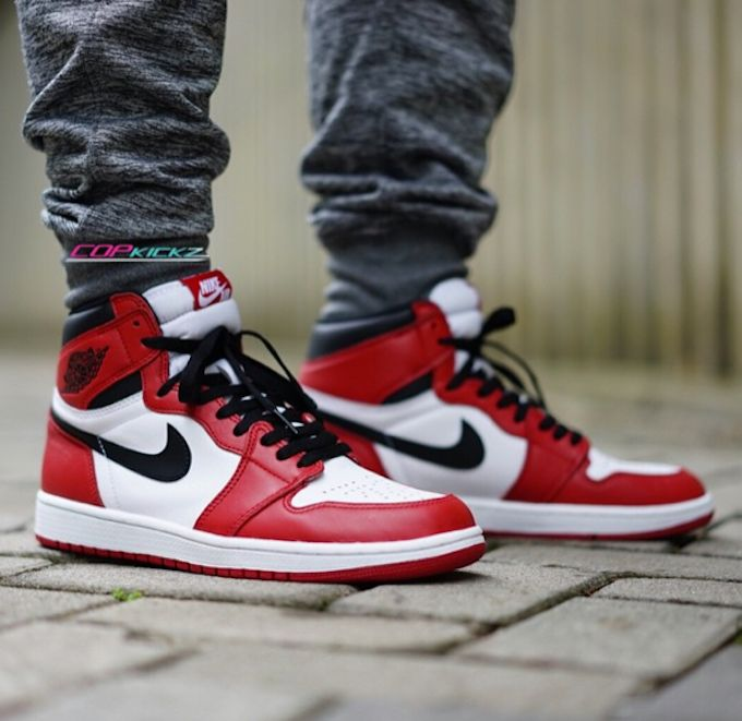 span itempropnameAir Jordan 1 Retro High OG White BlackVarsity Red Men Women GS Girlsspan