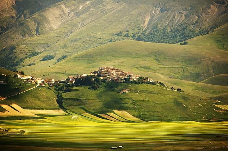 Castelluccio di Norcia, Italy