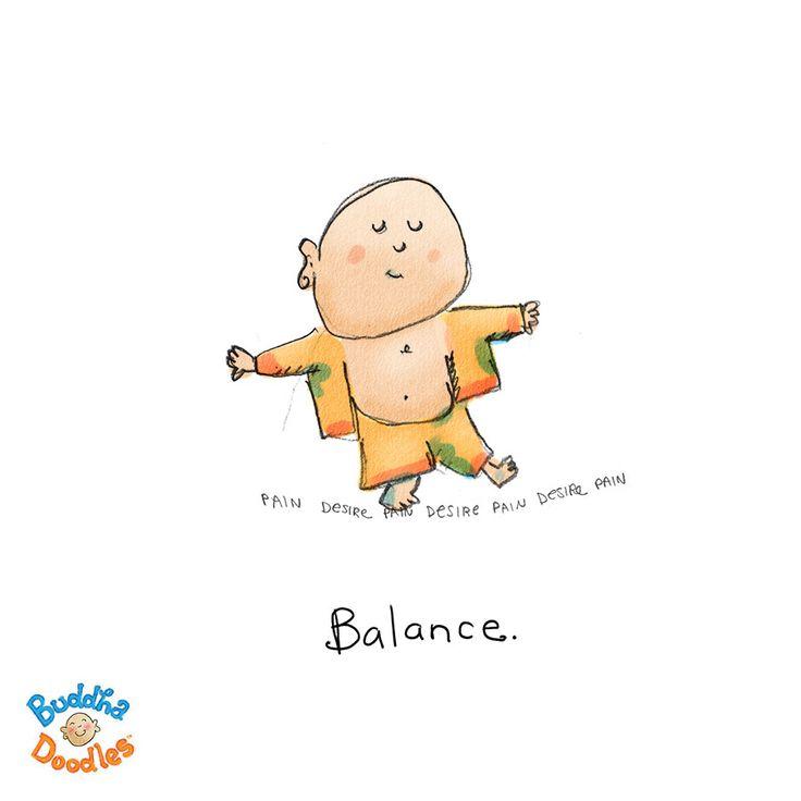 Today's Doodle: always balancing...