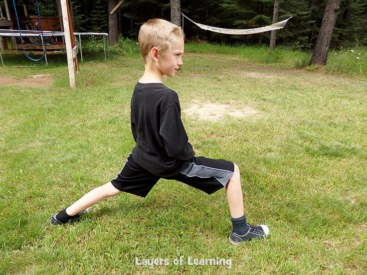 Circuit training with kids can be fun for them and you. The stations are short and the pace varies, keeping the interest of kids for the duration.