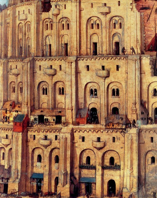 """analysis of the tower of babel paintings Bruegal has about 45 paintings that have the tower of babel painting tells a story  from the the tower of babel analysis paper on """"the tower of babel: an the little."""
