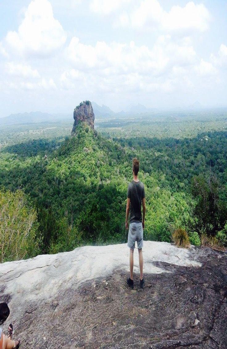 Hike ut to the best view of Sri Lanka - the Pidurangala Rock