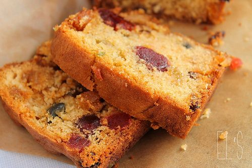 Cake anglais aux fruits confits - aime & mange