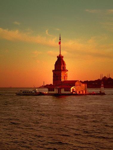 Maiden's Tower..., Istanbul, Turkey