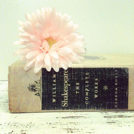The Complete Works of Shakespeare - beachbabyblues via Etsy
