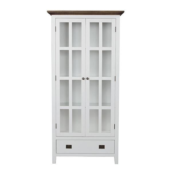 Nottingham Display Cabinet with drawer - Modish Living