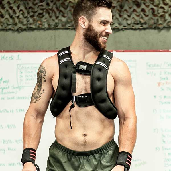 What You Need To Know About the WODmaster Weight Vest Grab the only weight vest specifically designed for WODs like Murph and Clovis with the OneFitWonder WODmaster 20lb weight vest. Unlike most vests