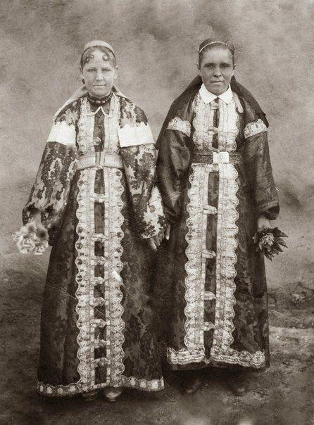Традиционная одежда уральских казачек