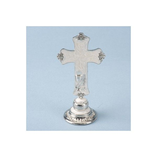 These pretty little silver plated crosses are ideal for any ‪#‎Communion‬ or ‪#‎Confirmation‬. You can use these crosses can be used as a cake topper or as a little keep sake.