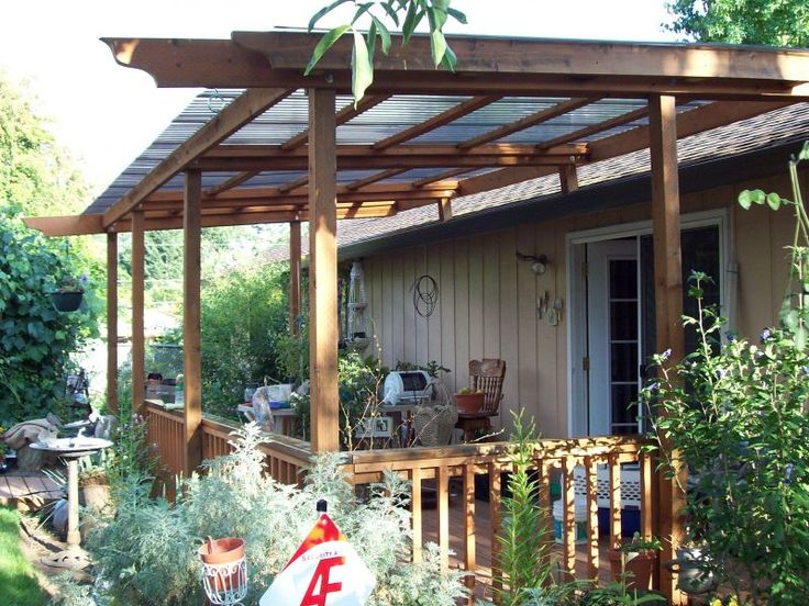 Best 25 deck awnings ideas on pinterest retractable for Porch canopy plans