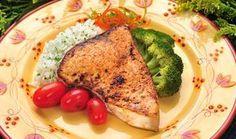 Blackened Swordfish Steaks  (I love swordfish,I splurge once and while)