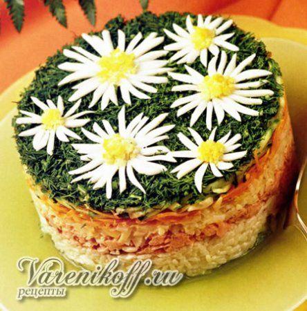 Вкусные овощные салаты, такие как салат с грибами, фасолью, кукурузой и другие рецепты салатов для Вас и Вашей семьи.