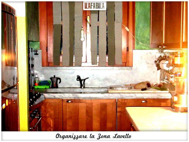 Cucina: Organizzare la Zona Lavello