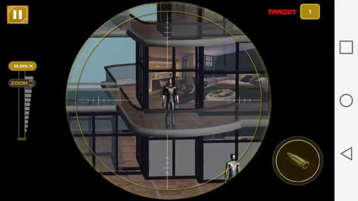 American Sniper Assassin 3D Walkthrough GamePlay Android Game  Lets Play : American Sniper Assasin by Integer Productions American Sniper Assassin is the first person shooting game where you go on missions to FIGHT the global WAR on CRIME and become the ULTIMATE SHOOTER for FREE. Eliminate a mob of enemies at street level or take out the single high-profile target. Pickup sniper weapons of your own choice to complete the missions different types of tactical tasks and kill all criminals down…
