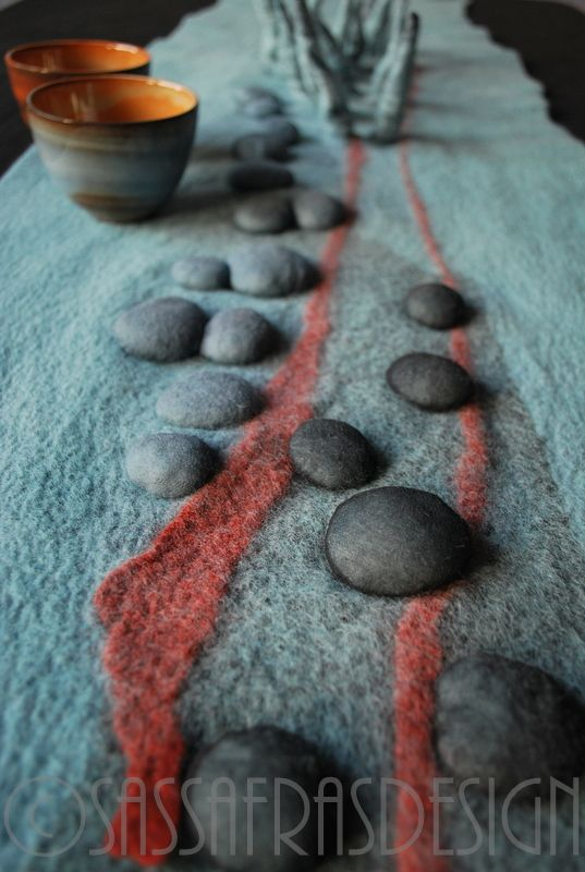 445 Best Images About Contemporary Felted Wall Art