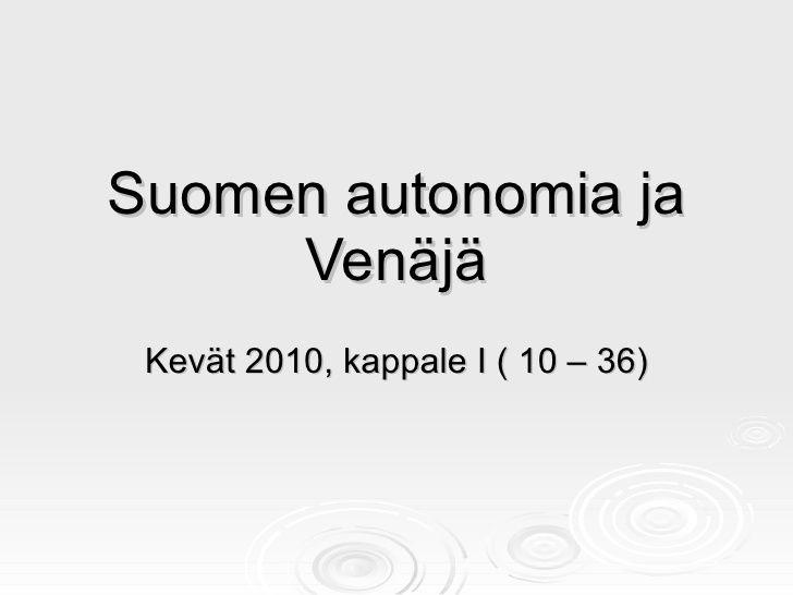 Suomen historia 1809 1981