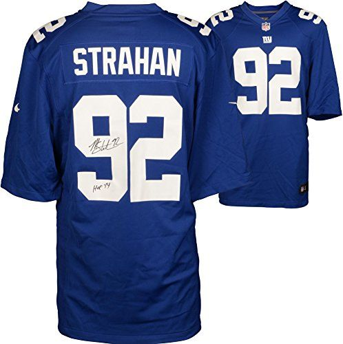 Michael Strahan New York Giants Authentic Jerseys