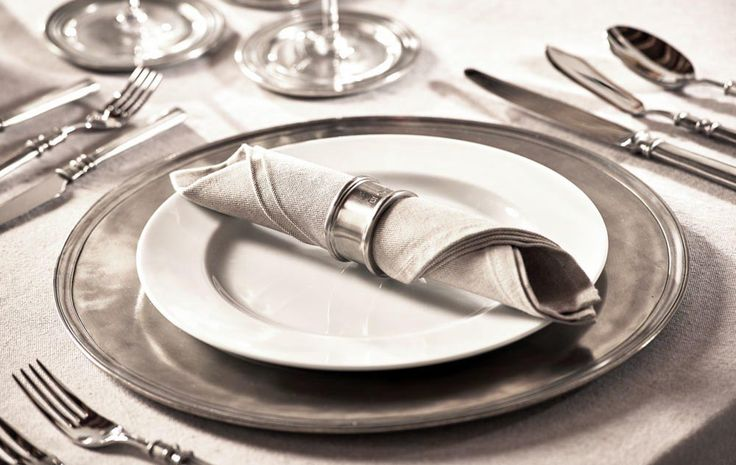 Pewter Charger Plate - Diameter: 35 cm (13,8″) - Food Safe Product - #pewter #charger #plate #peltro #sottopiatto #segnaposto #zinn #platzteller #peltre #tinn #олово #оловянный #tableware #dinnerware #table #accessories #decor #design #bottega #peltro #GT #italian #handmade #made #italy #artisans #craftsmanship #craftsman #primitive #vintage #antique
