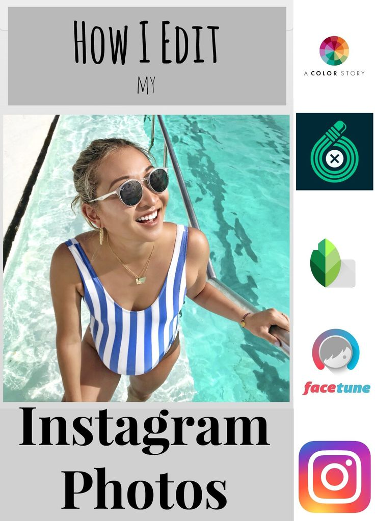 A step-by-step guide on how I edit my Instagram photos