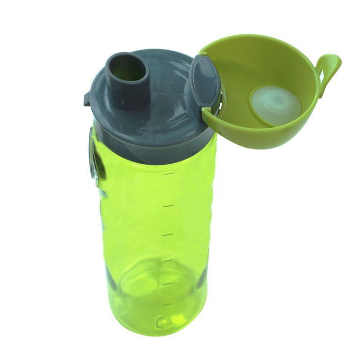 Cheap 700ML Plastic Outdoor Compass Water Bottle Manufacturer