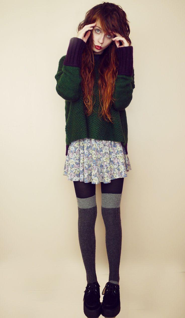 ways to wear summer dresses in the winter | Stylin ...