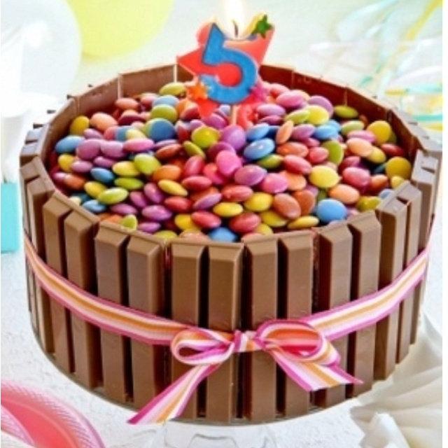 Easy birthday cake I am doing this but with time outs!! :)