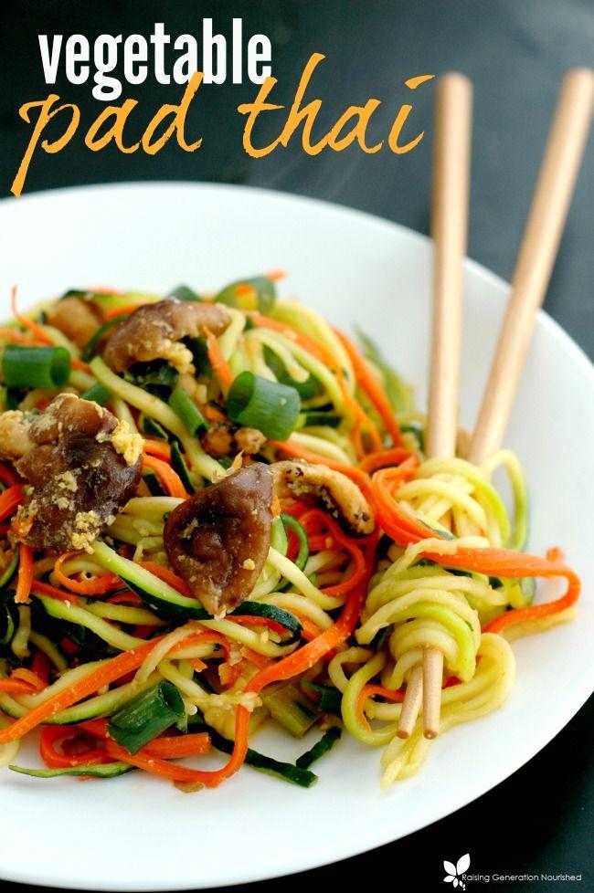 Vegetable Pad Thai | Healthy Ideas for Kids