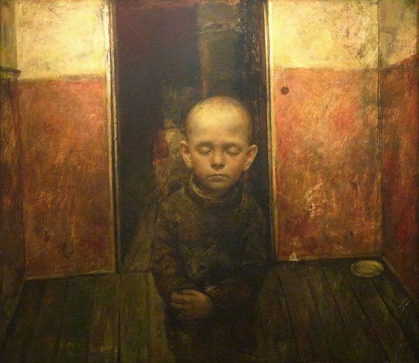 """Art selecta: """"The Human Vessel"""", Igor Melnikov en la Turner Carrol Art Gallery, London. // las búsquedas por emular a través de retratos, estos brincos de las emociones humanas que viajan a través de una iconografía de la fragilidad. // arte contemporáneo, pintura, contemporary art, artwork."""
