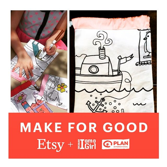 https://www.etsy.com/au/listing/254272207/party-coloring-activity-set-of-4-party @etsyau @plan_australia #makeforgood