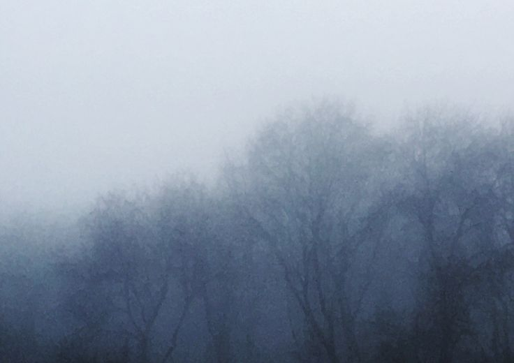 Mists - Photograph, dry brush filter