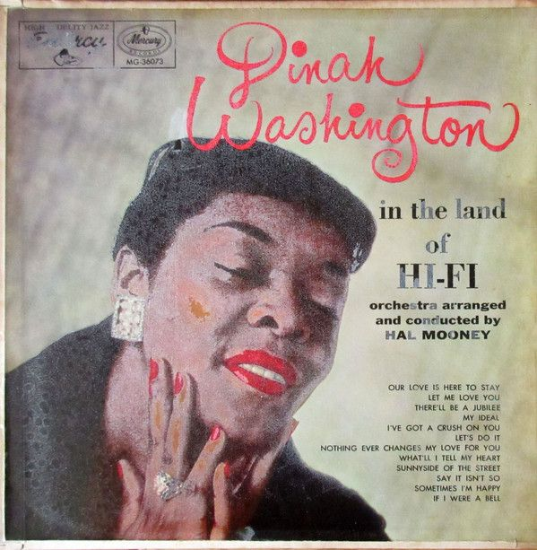 42 best muziek images on pinterest a song music and singer dinah washington in the land of hi fi solutioingenieria Gallery
