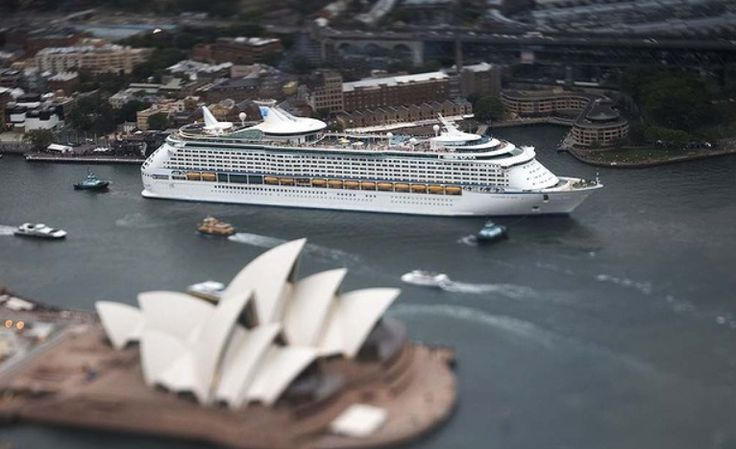 #Voyager of the Seas | Sydney Harbour