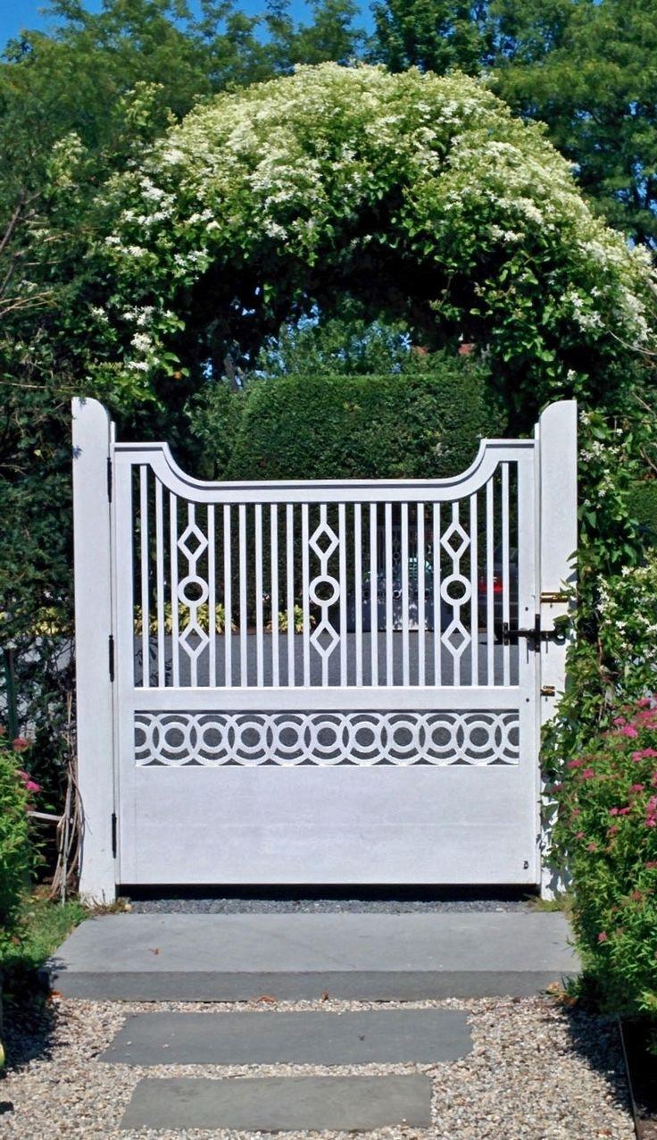 512 best exterior gates fences rails images on pinterest ode to the autumn clematis private newport climbing vinespicket fencesgarden baanklon Image collections