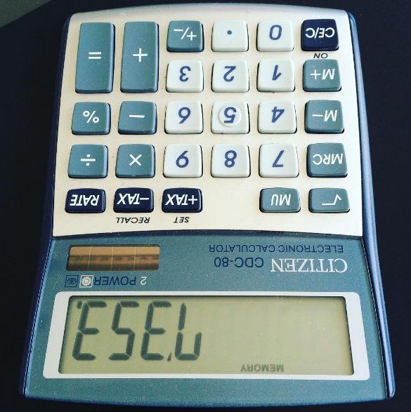 """Du weißt, warum es lustig ist, wenn Du """"7353"""" in einen Taschenrechner eingibst…"""